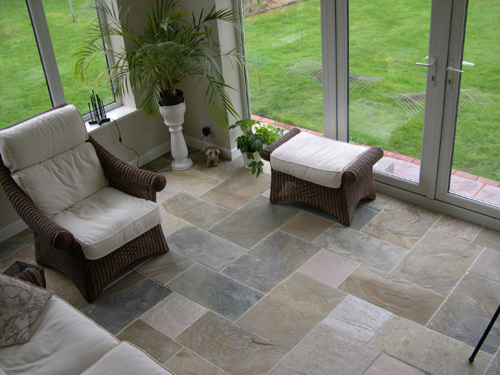 Natural Stone Slate Floor Tile