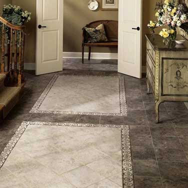 Ceramic porcelain tile flooring burbank glendale la for Kitchen floor ceramic tile design ideas