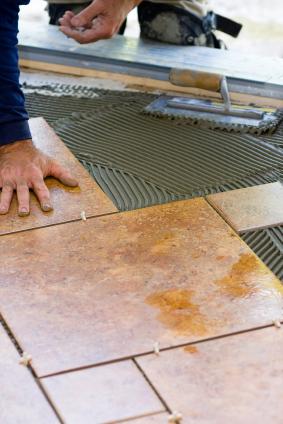 Ceramic porcelain tile flooring burbank glendale la for Ceramic floor installation
