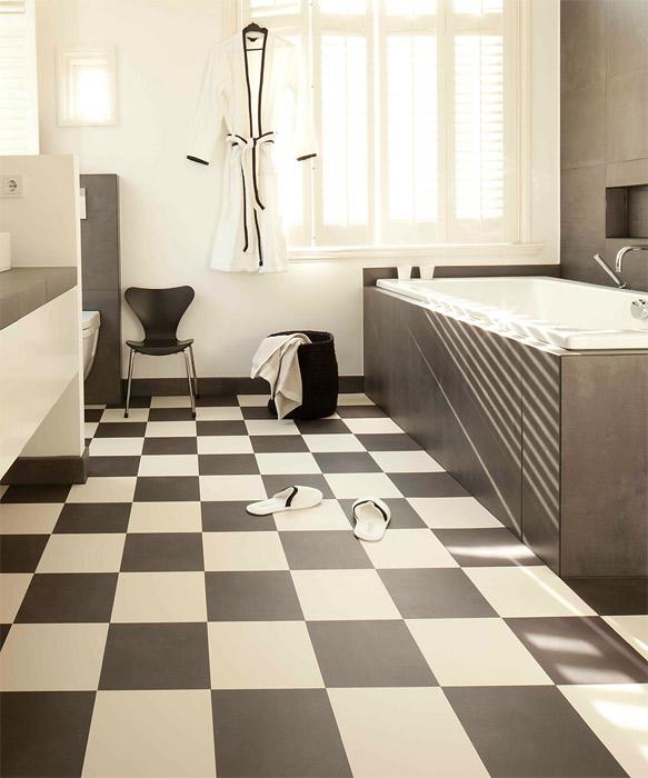 Vinyl Flooring Styles - Linoleum, Vinyl Composition Tile (VCT ...